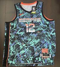 Memphis Grizzlies Ja Morant #12 Nike Select Series ROTY Swingman Jersey 2XL $160