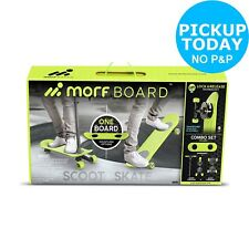 Morfboard Skate SCOOT Combo Set Chartreuse Black Top Quality