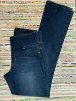 LIVERPOOL Company Jillian Pull On Straight Jeans Sz 4 27 Jegging