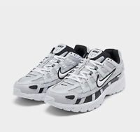 Men's Nike P-6000 Running Shoes White/ Black CD6404-006 NEW Size US 12