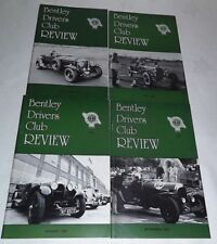 May Quarterly Bentley Drivers Club Transportation Magazines