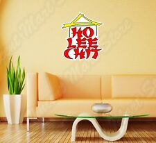 "Ho Lee Chit Chinese Funny Name China Wall Sticker Room Interior Decor 20""X25"""