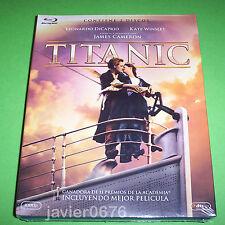 TITANIC BLU-RAY NUEVO Y PRECINTADO EDICION 2 DISCOS