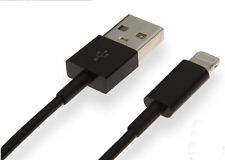 4x 2M Black 8Pin USB Data Sync Charger Cable for iPhone iPhone 5/5S/5C 6 6s plus