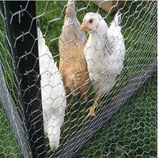 Chicken Wire- Hex Mesh - 900mm x 20m (50mm hole) 0.9mm wire **FREE POST**