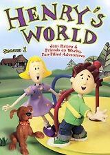 HENRYS WORLD Season 1 - 4 Pack (DVD, 2008) 13 EPISODES