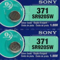 371 Sony 370 SR920SW D371 D370 LR920 LR921 AG6 2 Batteries