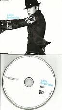 JUSTIN TIMBERLAKE Like I love you 3 TRX w/2 RARE EDITS Europe PROMO DJ CD single