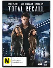 TOTAL RECALL (2012) - BRAND NEW & SEALED R4 DVD (COLIN FARRELL, JESSICA BIEL)