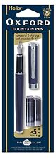 Brand New Helix Oxford Fountain Pen and Cartridges 219915