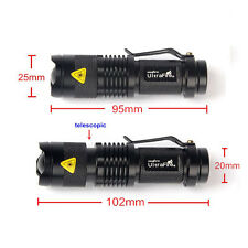 Ultrafire 5000Lumen CREE T6 LED Rechargeable Flashlight Torch Bright Light AFM n
