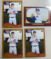 2020 Topps Archives NICO HOERNER Base & 1955 Bowman RC Cubs #B55-22 (Lot Of 4)