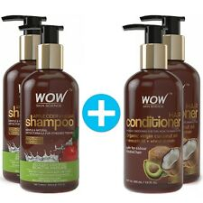 WOW Apple Cider Vinegar Shampoo + Wow Hair Conditioner - 2 PACK SETS