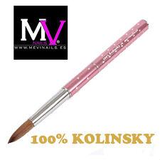 Pincel 100%  Kolinsky Nº 6 Mevinails - Acrilico - porcelana  pinceles - monomero