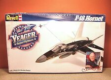 1/48 REVELL YEAGER SUPERFIGHTERS F-18 HORNET MODEL KIT # 4561