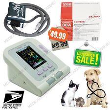 US Seller, Veterinary Digital Blood Pressure Monitor,Animal NIBP Machine,+ Cuff