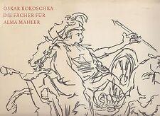 Oskar Kokoschka: gli alloggiamenti per Alma Mahler (colorate illustra) 1969