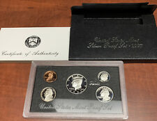COMPLETE 1997 UNITED STATES Mint Silver PROOF SET with Box + COA US S