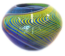 murano art glass vase bowl with Certificate A56