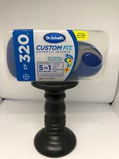 Dr. Scholl's CF 320  Custom Fit Orthotic Inserts FACTORY SEALED SHIPS FREE TODAY