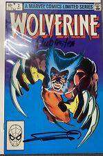 Wolverine Limited Series #2 Signed by Frank Miller/Joe Rubenstein NM
