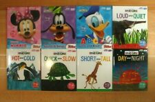MY FIRST SMART PAD Books for Children! Eric Carle, Disney Lot of 8! FREE SHIP!