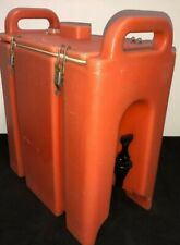 Cambro Orange Insulated Beverage Carrier 250lcd 25 Gallon Capacity Our 2