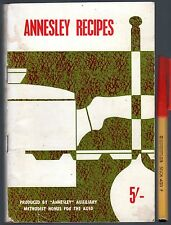 C1950s ANNESLEY RECIPES 72pg Australian Cookery fr. Folk in Annesley AGED PERSON