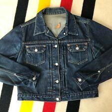 Vintage Levis Type 2 Denim Jacket // Size M/L // Dark Wash