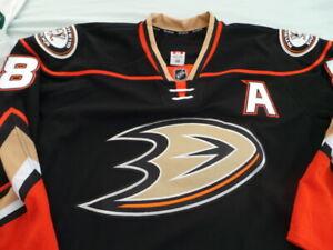 Reebok Game Issued Authentic Jersey Anaheim Ducks Teemu Selanne 58 MIC Edge 2.0