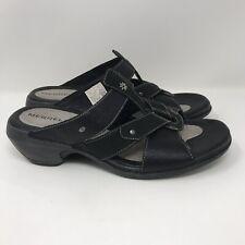 Merrell Womens Luxe Slide Black Size 9