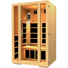 JNH Lifestyles Joyous 2 Person Infrared Sauna New Year Sale, Save $500