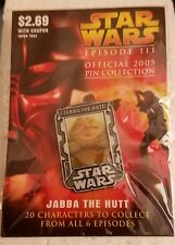 JABBA THE HUTT STAR WARS III 2005 LAPEL PIN