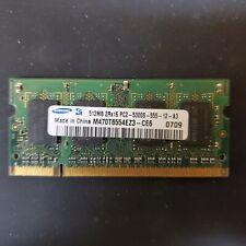 Laptop Ram - DDR2 - DDR3 - 512MB - 1GB - 2GB - 4GB