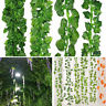 12pc Artificial Ivy Vine Garland Fake Plant for Wedding Home Garden Decor US