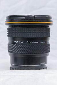Tokina 20-35 f3.5-4.5 AF, for Sony/Minolta A mount