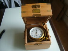 Russian marine chronometer in box KIROVA #16565 (box Oak)