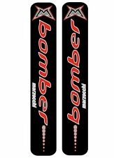 Marzocchi Bomber Fork Suspension Decal Kit Sticker Adhesive Set Black