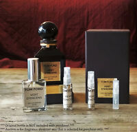 Tom Ford Private Blend - 100% Authentic Sample! Tobacco Vanille and many others!