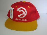 Vtg Atlanta Hawks 90's Snapback DS NBA Hat Cap Universal Industries Inc NWT
