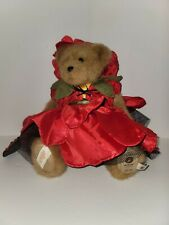 2009 Boyds Bear Of The Month Penelope Berrybloom Poppy Numbered 1009/2000