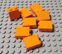 LEGO New Lot of 8 Orange 1x2x2 Friends Building Brick Pieces