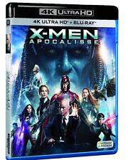 X-MEN APOCALISSE (BLU-RAY 4K + 2K ULTRA HD) Jennifer Lawrence,Michael Fassbender