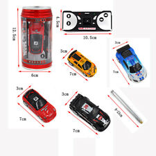 Child Funny Coke Can Mini Speed RC Radio Remote Control Micro Racing Car Toy