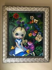 Alice in the garden Canvas Painting by Jasmine Becket Griffith