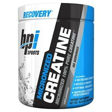 BPI Sports Micronized 100 Pure Creatine Monohydrate Unflavoured 600g