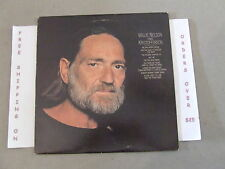 """WILLIE NELSON SINGS KRISTOFFERSON LP W/ """"ME AND BOBBY McGEE"""" JC-36188"""