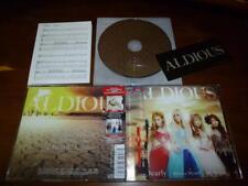 Aldious / Dearly / Believe Myself / Die for You JAPAN w/Sticker *H
