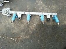 TOYOTA YARIS 1.3 PETROL 06-07-08-09 FUEL RAIL WITH FUEL INJECTORS