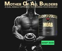 Redcon1 MOAB Pre Workout Energy Pump Recovery Muscle Builder 30 Serves 2 FLAVORS